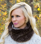 Sheared & Full Fur Snood Scarves