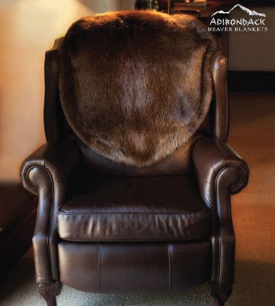 Fur Chair Covers From Adirondack Beaver Blankets. Great Addition For Your  Office, Library Or Family Room. Order Today!